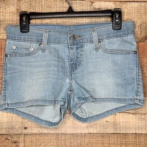 Levi's | Light-washed Denim Shorts 25